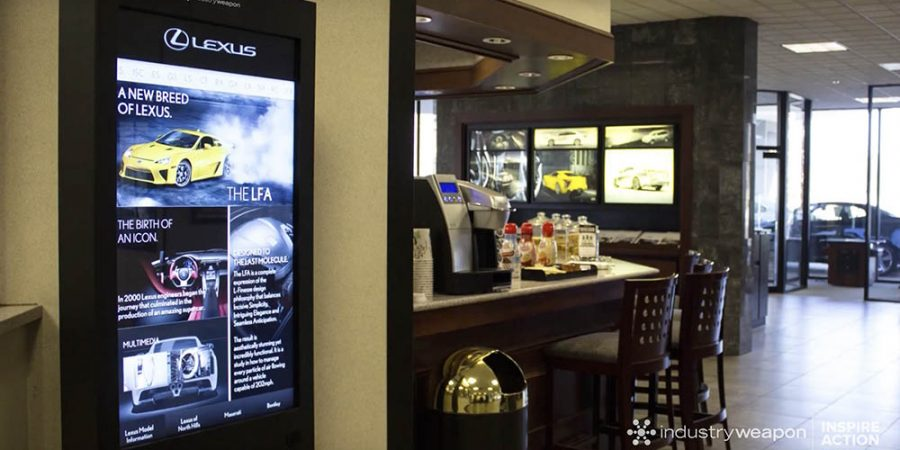 Utilizing Auto Dealership Digital Signage to Promote Your Service Department