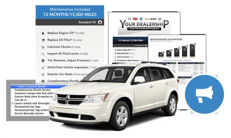 promote vehicle marketing